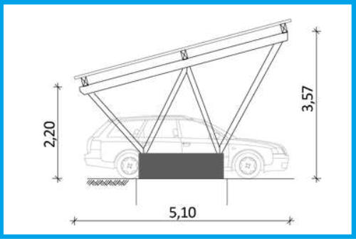 Statik Für Carport mawo solarteur-carport